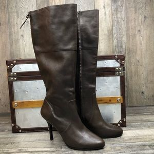 NWOB Lauren Ralph Lauren Lavinia Leather  Boots